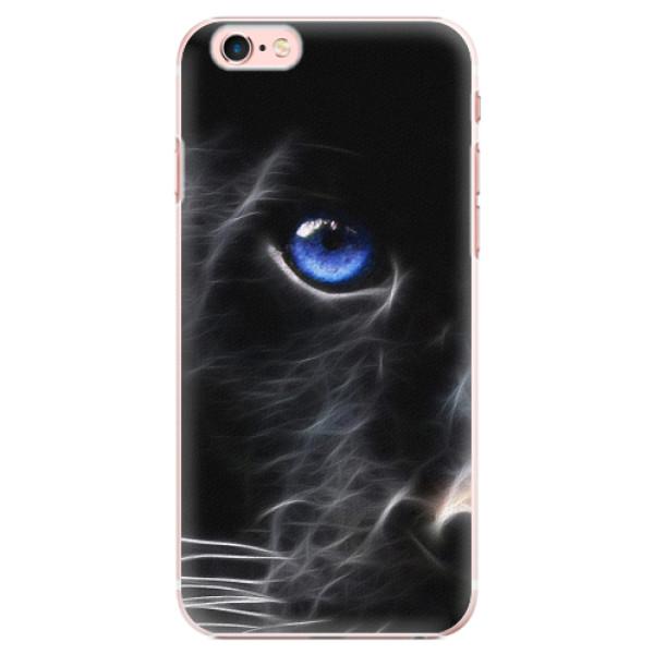 Plastové pouzdro iSaprio - Black Puma - iPhone 6 Plus/6S Plus