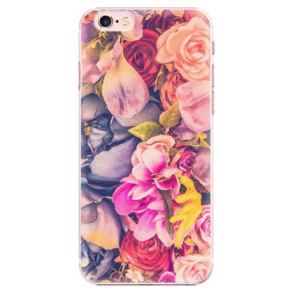 Plastové pouzdro iSaprio - Beauty Flowers - iPhone 6 Plus/6S Plus