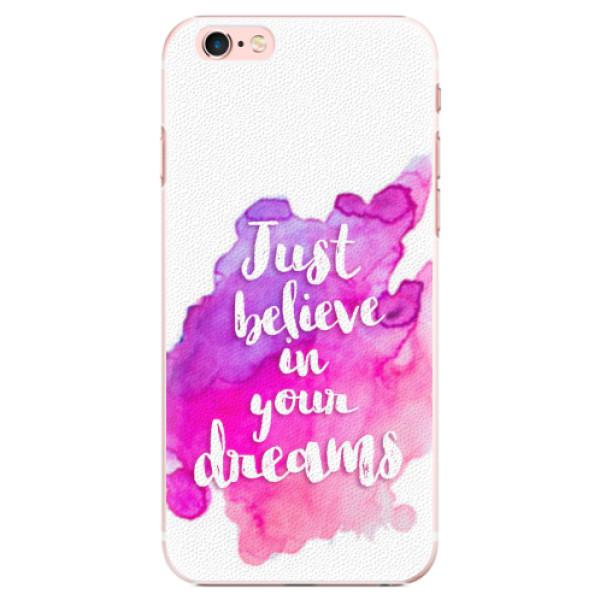 Plastové pouzdro iSaprio - Believe - iPhone 6 Plus/6S Plus