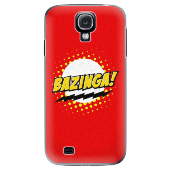 Plastové pouzdro iSaprio - Bazinga 01 - Samsung Galaxy S4