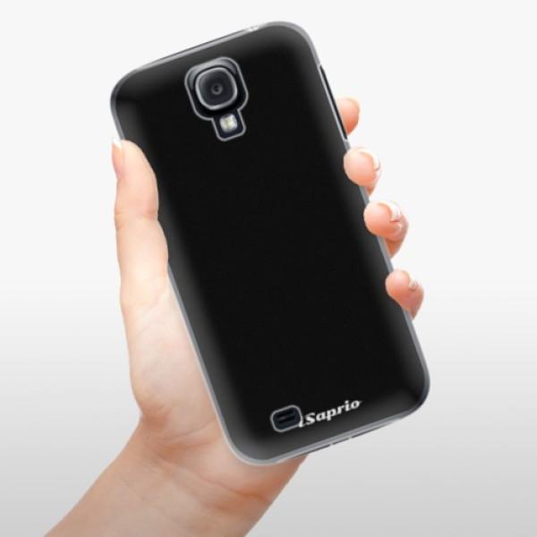 Plastové pouzdro iSaprio - 4Pure - černý - Samsung Galaxy S4