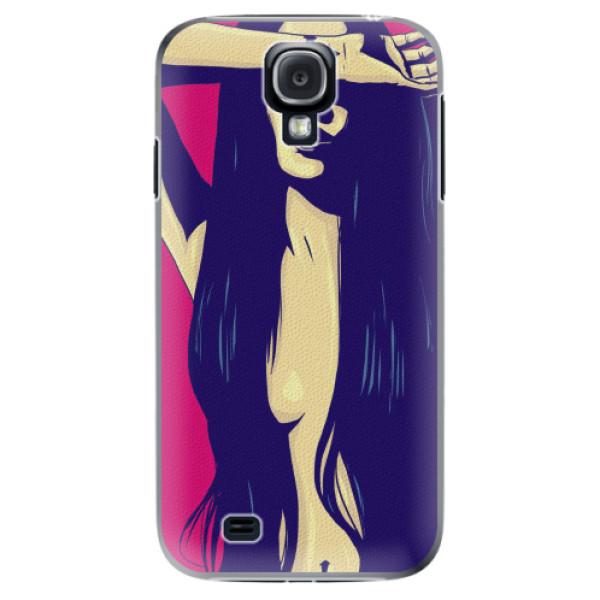 Plastové pouzdro iSaprio - Cartoon Girl - Samsung Galaxy S4