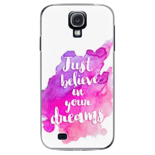 Plastové pouzdro iSaprio - Believe - Samsung Galaxy S4