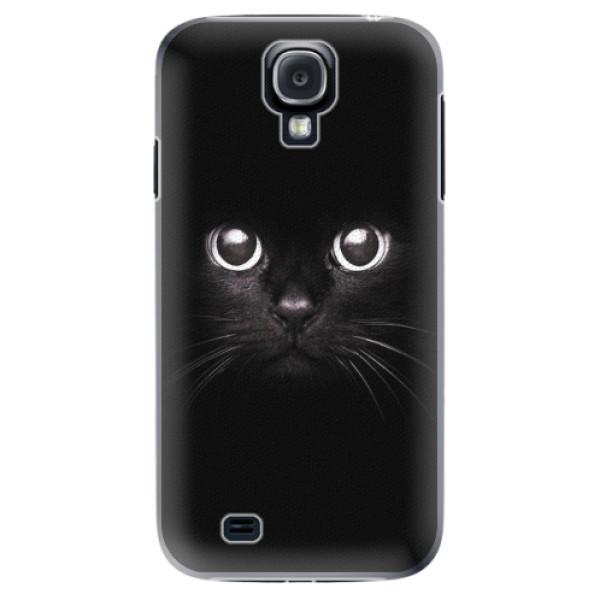 Plastové pouzdro iSaprio - Black Cat - Samsung Galaxy S4