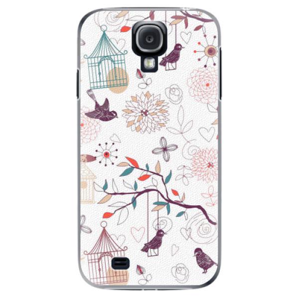 Plastové pouzdro iSaprio - Birds - Samsung Galaxy S4