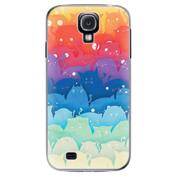 Plastové pouzdro iSaprio - Cats World - Samsung Galaxy S4