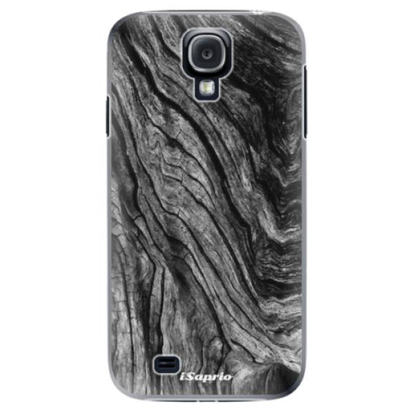 Plastové pouzdro iSaprio - Burned Wood - Samsung Galaxy S4