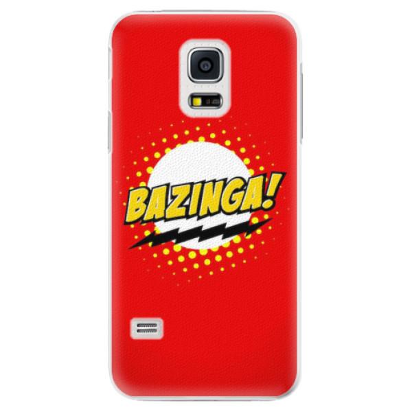 Plastové pouzdro iSaprio - Bazinga 01 - Samsung Galaxy S5 Mini