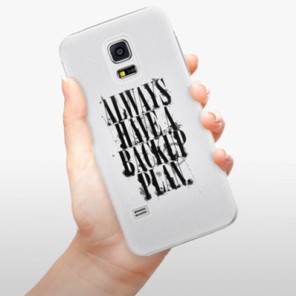Plastové pouzdro iSaprio - Backup Plan - Samsung Galaxy S5 Mini