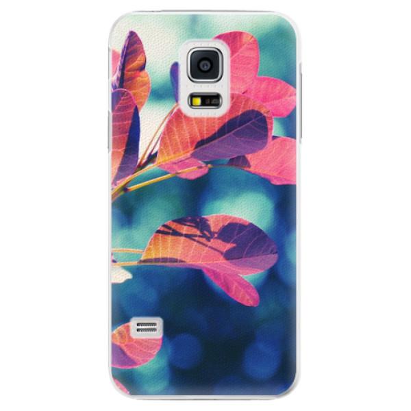 Plastové pouzdro iSaprio - Autumn 01 - Samsung Galaxy S5 Mini