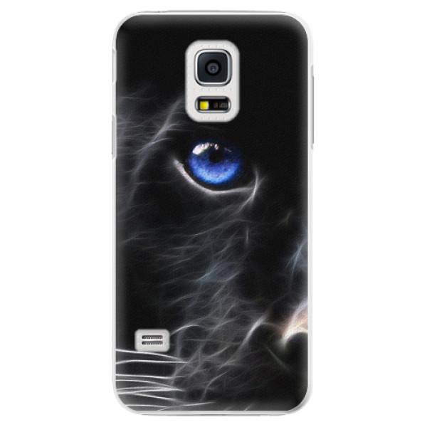 Plastové pouzdro iSaprio - Black Puma - Samsung Galaxy S5 Mini