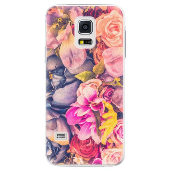 Plastové pouzdro iSaprio - Beauty Flowers - Samsung Galaxy S5 Mini