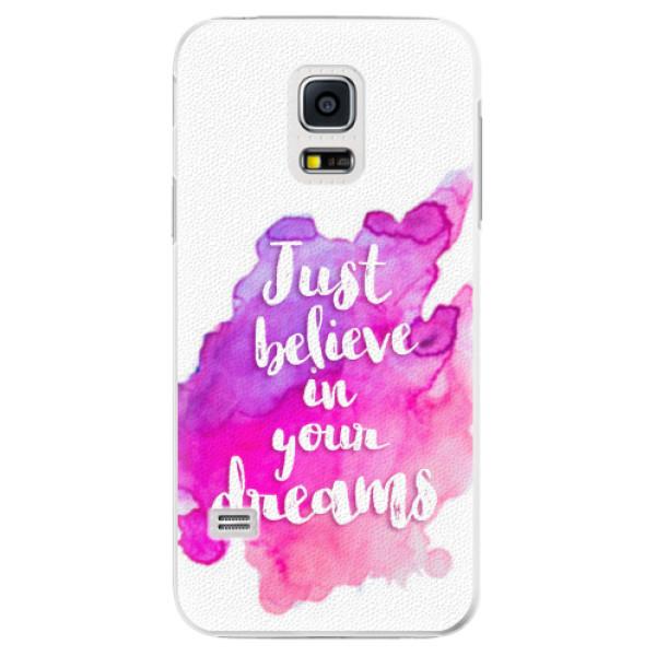 Plastové pouzdro iSaprio - Believe - Samsung Galaxy S5 Mini