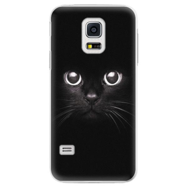 Plastové pouzdro iSaprio - Black Cat - Samsung Galaxy S5 Mini