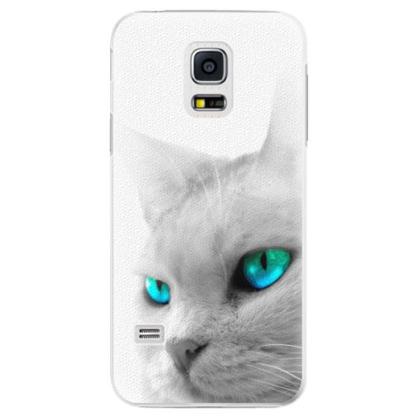 Plastové pouzdro iSaprio - Cats Eyes - Samsung Galaxy S5 Mini