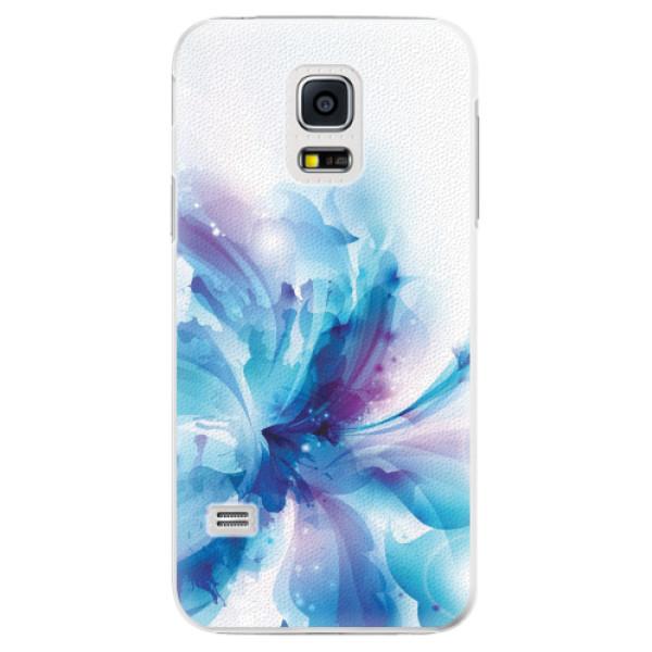 Plastové pouzdro iSaprio - Abstract Flower - Samsung Galaxy S5 Mini