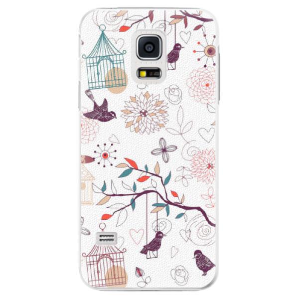 Plastové pouzdro iSaprio - Birds - Samsung Galaxy S5 Mini