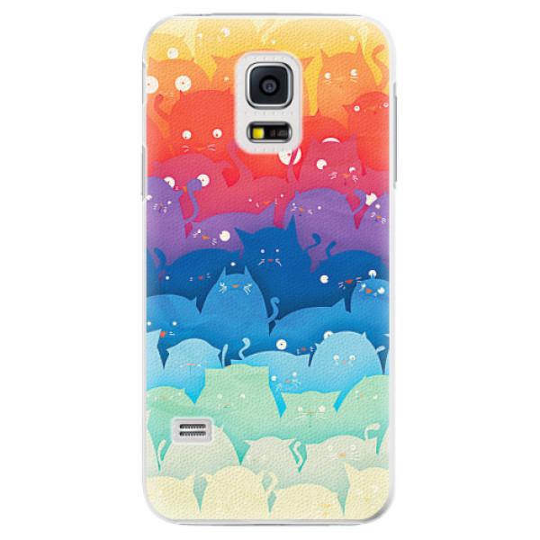 Plastové pouzdro iSaprio - Cats World - Samsung Galaxy S5 Mini