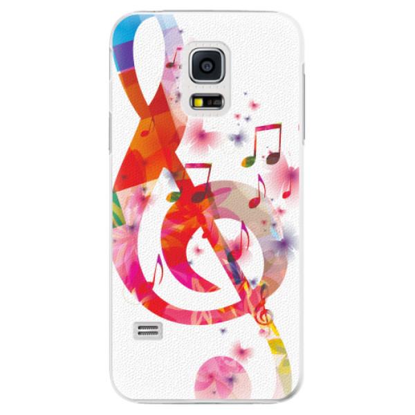 Plastové pouzdro iSaprio - Love Music - Samsung Galaxy S5 Mini