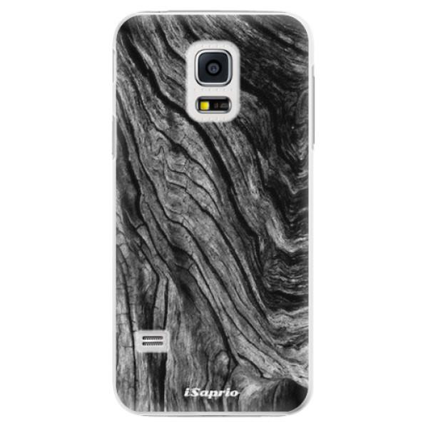 Plastové pouzdro iSaprio - Burned Wood - Samsung Galaxy S5 Mini