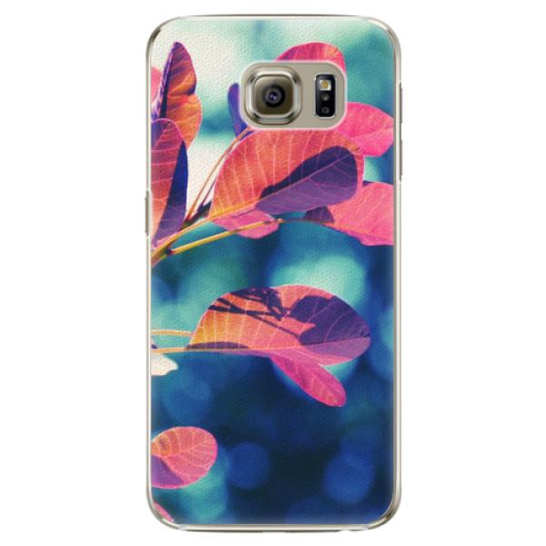 Plastové pouzdro iSaprio - Autumn 01 - Samsung Galaxy S6