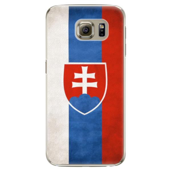 Plastové pouzdro iSaprio - Slovakia Flag - Samsung Galaxy S6
