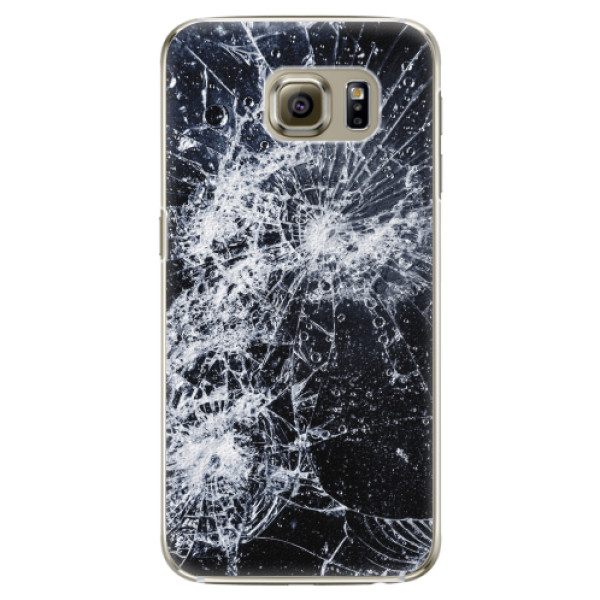 Plastové pouzdro iSaprio - Cracked - Samsung Galaxy S6