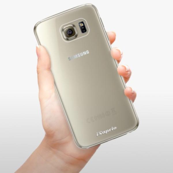 Plastové pouzdro iSaprio - 4Pure - mléčný bez potisku - Samsung Galaxy S6