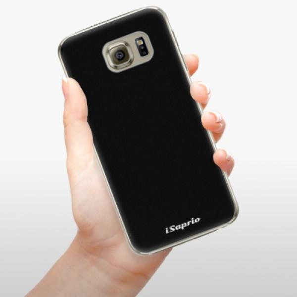 Plastové pouzdro iSaprio - 4Pure - černý - Samsung Galaxy S6