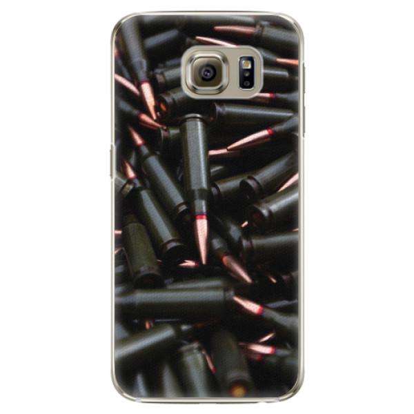 Plastové pouzdro iSaprio - Black Bullet - Samsung Galaxy S6
