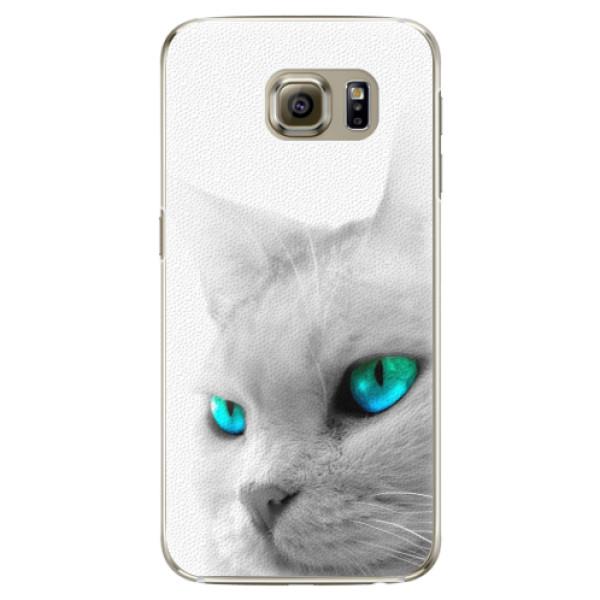 Plastové pouzdro iSaprio - Cats Eyes - Samsung Galaxy S6