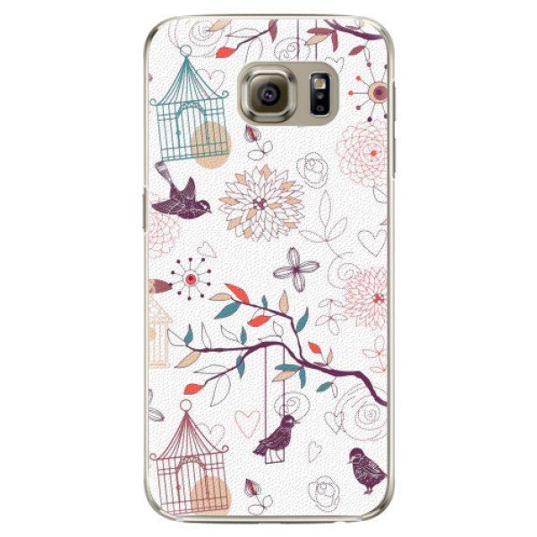 Plastové pouzdro iSaprio - Birds - Samsung Galaxy S6