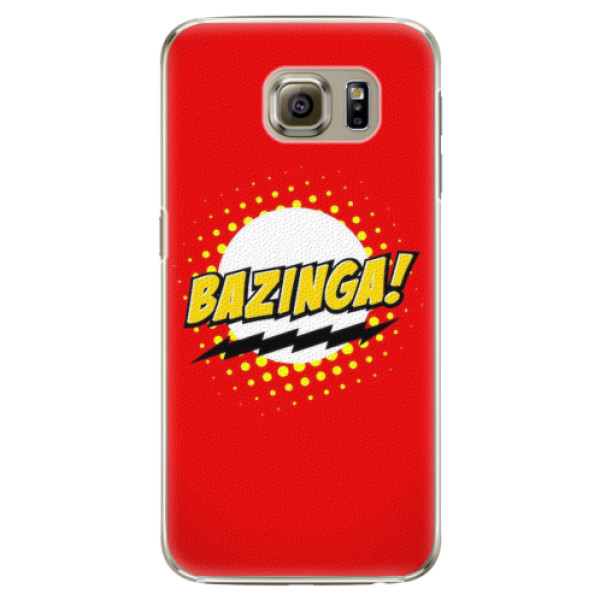 Plastové pouzdro iSaprio - Bazinga 01 - Samsung Galaxy S6 Edge