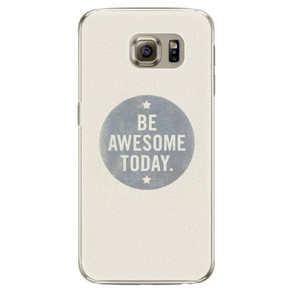Plastové pouzdro iSaprio - Awesome 02 - Samsung Galaxy S6 Edge