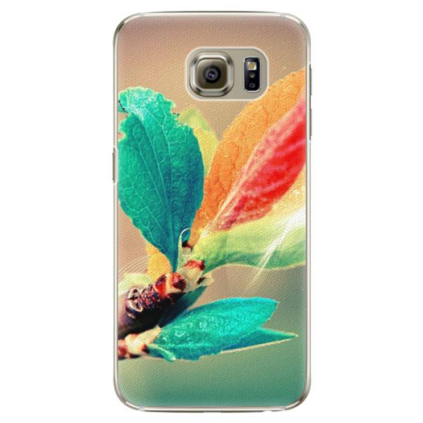 Plastové pouzdro iSaprio - Autumn 02 - Samsung Galaxy S6 Edge