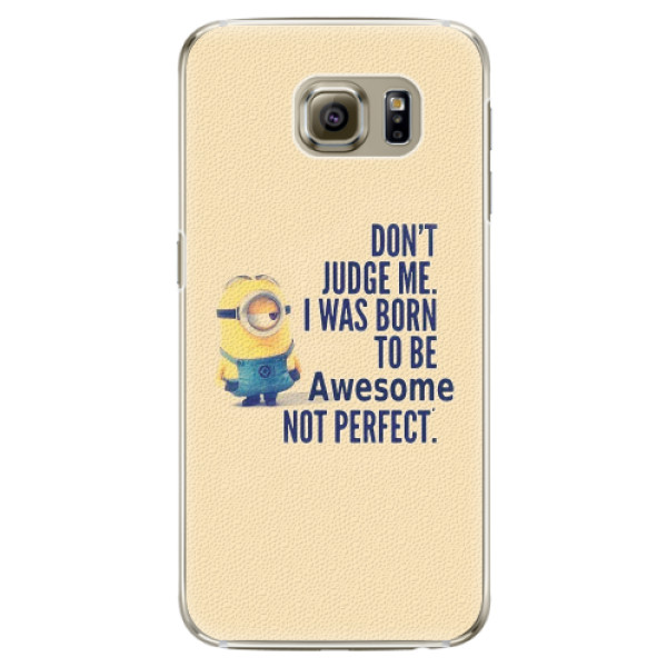 Plastové pouzdro iSaprio - Be Awesome - Samsung Galaxy S6 Edge