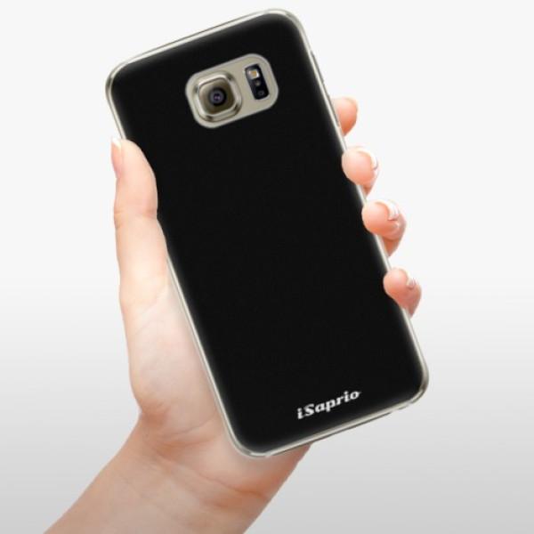 Plastové pouzdro iSaprio - 4Pure - černý - Samsung Galaxy S6 Edge