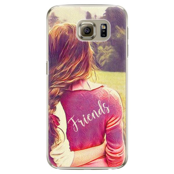 Plastové pouzdro iSaprio - BF Friends - Samsung Galaxy S6 Edge