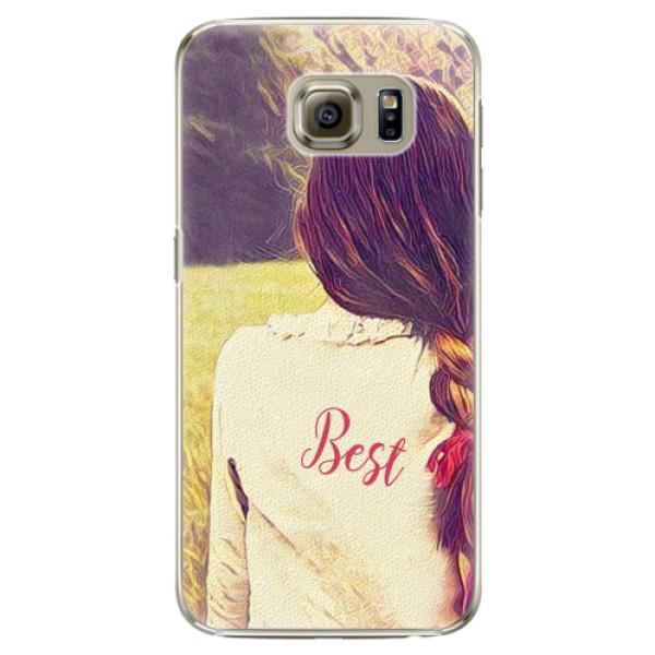 Plastové pouzdro iSaprio - BF Best - Samsung Galaxy S6 Edge
