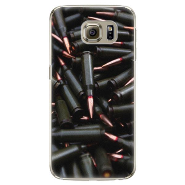 Plastové pouzdro iSaprio - Black Bullet - Samsung Galaxy S6 Edge
