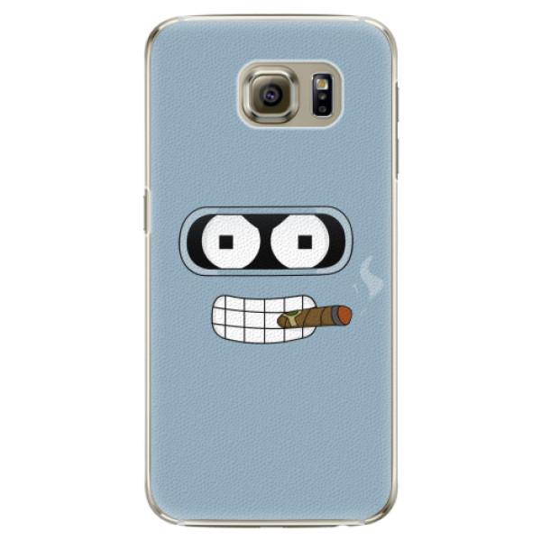 Plastové pouzdro iSaprio - Bender - Samsung Galaxy S6 Edge