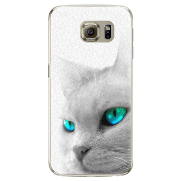 Plastové pouzdro iSaprio - Cats Eyes - Samsung Galaxy S6 Edge