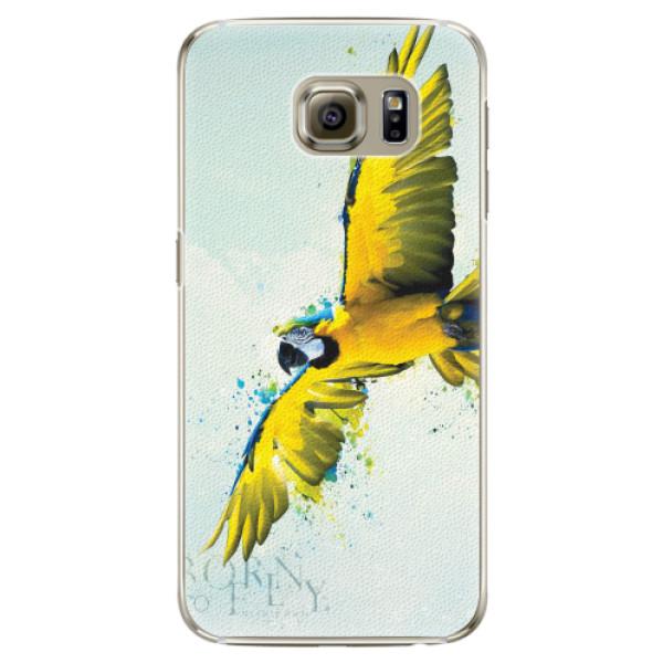 Plastové pouzdro iSaprio - Born to Fly - Samsung Galaxy S6 Edge
