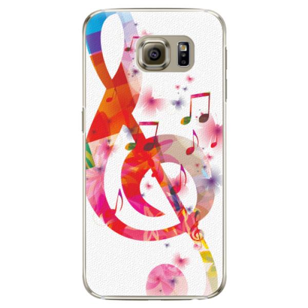 Plastové pouzdro iSaprio - Love Music - Samsung Galaxy S6 Edge