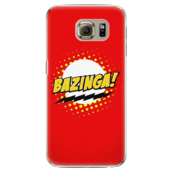 Plastové pouzdro iSaprio - Bazinga 01 - Samsung Galaxy S6 Edge Plus