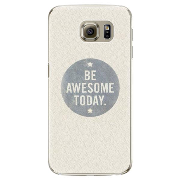 Plastové pouzdro iSaprio - Awesome 02 - Samsung Galaxy S6 Edge Plus
