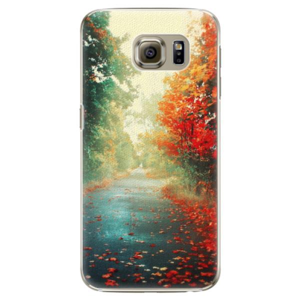 Plastové pouzdro iSaprio - Autumn 03 - Samsung Galaxy S6 Edge Plus