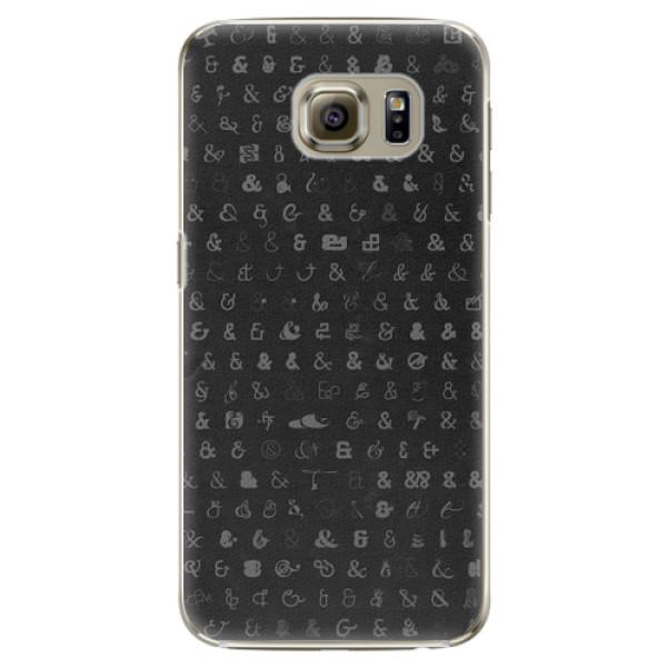 Plastové pouzdro iSaprio - Ampersand 01 - Samsung Galaxy S6 Edge Plus