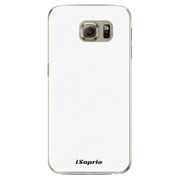 Plastové pouzdro iSaprio - 4Pure - bílý - Samsung Galaxy S6 Edge Plus