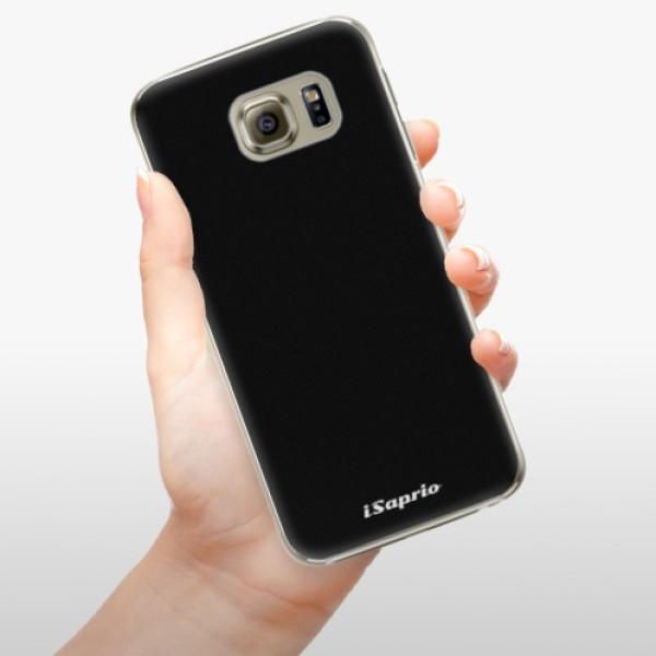 Plastové pouzdro iSaprio - 4Pure - černý - Samsung Galaxy S6 Edge Plus